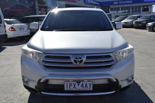 2013 Toyota Kluger GSU45R MY12 Altitude AWD White 5 Speed Sports Automatic Wagon.