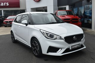 2019 MG MG3 SZP1 MY18 Excite White 4 Speed Automatic Hatchback