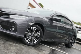 2018 Honda Civic 10th Gen MY18 VTi-LX Grey 1 Speed Constant Variable Hatchback.