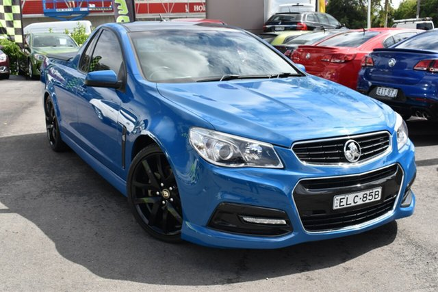 Used Holden Ute VF MY15 SV6 Ute Tuggerah, 2015 Holden Ute VF MY15 SV6 Ute Blue 6 Speed Manual Utility