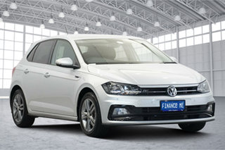 2018 Volkswagen Polo AW MY19 85TSI DSG Comfortline Silver 7 Speed Sports Automatic Dual Clutch.