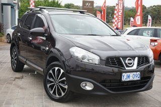 2013 Nissan Dualis J10W Series 3 MY12 Ti-L Hatch X-tronic 2WD Brown 6 Speed Constant Variable.
