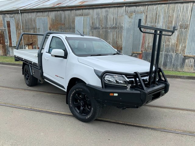 Used Holden Colorado RG MY18 LS Launceston, 2018 Holden Colorado RG MY18 LS White 6 Speed Manual Cab Chassis