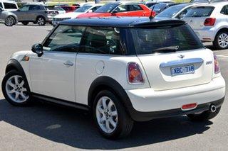 2009 Mini Hatch R56 Cooper Steptronic White 6 Speed Sports Automatic Hatchback.