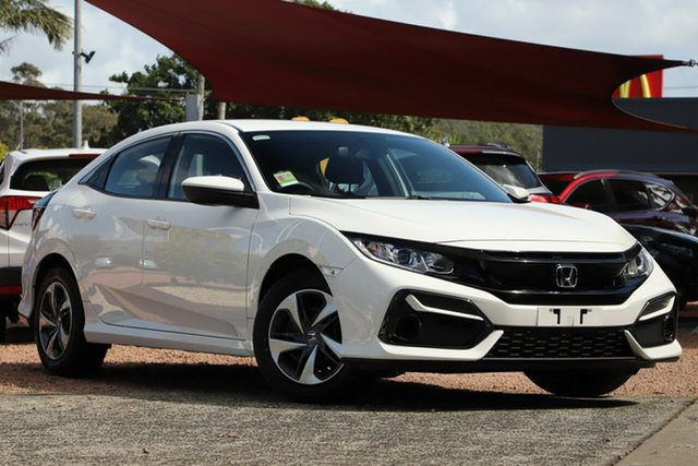 New Honda Civic 10th Gen MY20 VTi Indooroopilly, 2020 Honda Civic 10th Gen MY20 VTi Platinum White 1 Speed Constant Variable Sedan