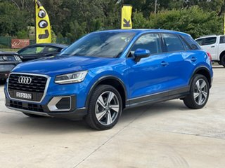 2018 Audi Q2 design Blue Sports Automatic Dual Clutch Wagon.