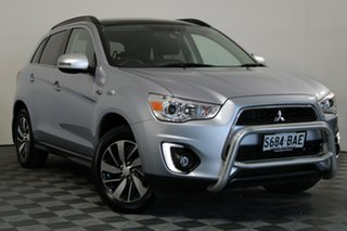 2014 Mitsubishi ASX XB MY15 XLS 2WD Cool Silver 6 Speed Constant Variable Wagon.