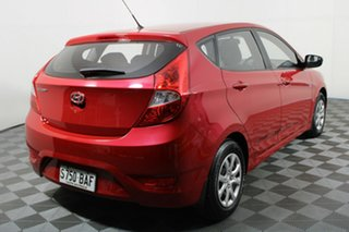 2013 Hyundai Accent RB2 Active Red 6 Speed Manual Hatchback