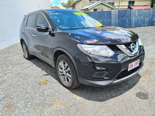 2015 Nissan X-Trail T32 ST X-tronic 2WD Black 7 Speed Constant Variable Wagon