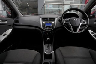 2011 Hyundai Accent RB Active Red 4 Speed Automatic Hatchback