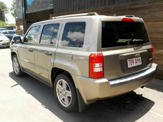 2008 Jeep Patriot MK MY2007 Limited CVT Auto Stick Khaki 6 Speed Constant Variable Wagon