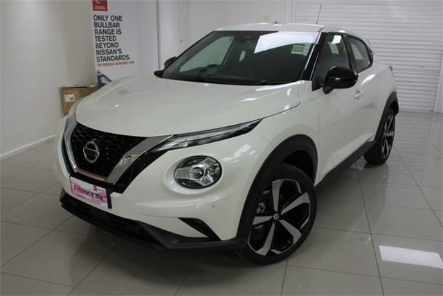 New Nissan Juke F16 ST-L , 2020 Nissan Juke F16 ST-L Ivory Pearl 7 Speed Sports Automatic Dual Clutch Hatchback