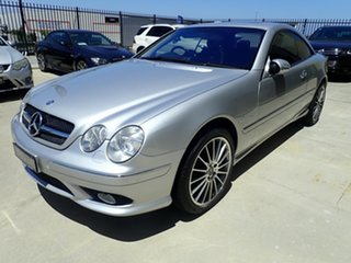 2003 Mercedes-Benz CL-Class C215 MY04 CL55 AMG Silver Metallic 5 Speed Sports Automatic Coupe.