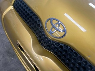 2000 Toyota Echo NCP10R Gold Dust 4 Speed Automatic Hatchback