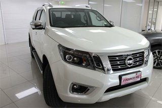 2020 Nissan Navara D23 S4 ST-X White Diamond 7 Speed Sports Automatic Utility.