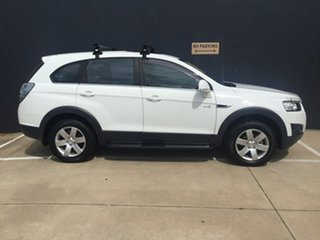 2013 Holden Captiva CG MY13 7 SX White 6 Speed Sports Automatic Wagon.