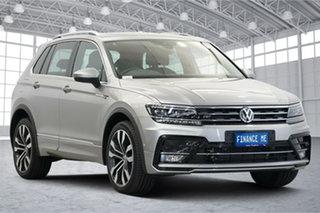 2019 Volkswagen Tiguan 5N MY20 162TSI DSG 4MOTION Highline Tungsten Silver 7 Speed.