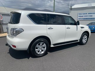 2017 Nissan Patrol Y62 Series 3 TI White 7 Speed Sports Automatic Wagon