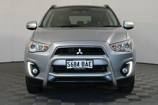 2014 Mitsubishi ASX XB MY15 XLS 2WD Cool Silver 6 Speed Constant Variable Wagon