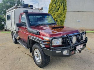 2013 Toyota Landcruiser VDJ79R MY13 GXL 5 Speed Manual Cab Chassis.