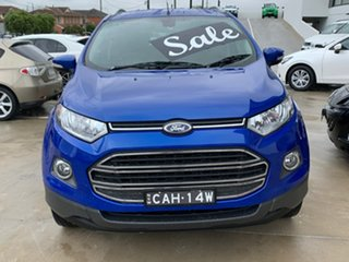 2014 Ford Ecosport BK Titanium PwrShift Blue 6 Speed Sports Automatic Dual Clutch Wagon