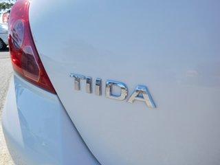 2008 Nissan Tiida C11 MY07 ST White 4 Speed Automatic Hatchback