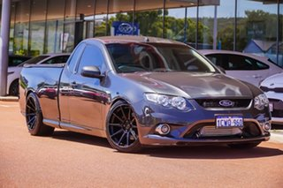 2008 Ford Falcon FG XR6 Ute Super Cab Turbo Grey 6 Speed Sports Automatic Utility.