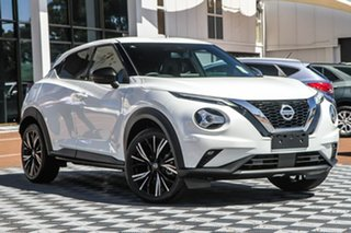 2020 Nissan Juke F16 Ti DCT 2WD Ivory Pearl 7 Speed Sports Automatic Dual Clutch Hatchback.