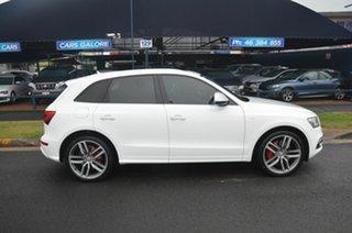 2015 Audi SQ5 8R MY16 3.0 TDI Quattro White 8 Speed Automatic Wagon.