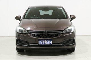 2017 Holden Astra BK MY17 R Brown 6 Speed Automatic Hatchback.