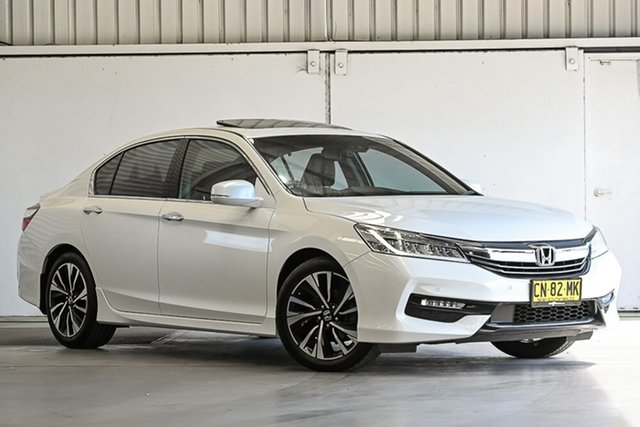 Used Honda Accord 9th Gen MY17 V6L Laverton North, 2017 Honda Accord 9th Gen MY17 V6L Leather 6 Speed Sports Automatic Sedan
