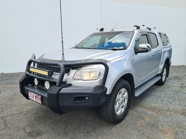 Used Holden Colorado RG MY16 LTZ Crew Cab North Rockhampton, 2015 Holden Colorado RG MY16 LTZ Crew Cab Silver 6 Speed Sports Automatic Utility