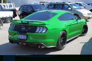 2019 Ford Mustang FN 2019MY GT Green 10 Speed Sports Automatic Fastback.