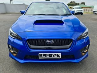 2016 Subaru WRX V1 MY17 Premium AWD WR Blue 6 Speed Manual Sedan.