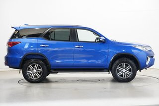 2016 Toyota Fortuner GUN156R GXL Blue 6 Speed Automatic Wagon