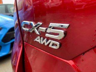 2017 Mazda CX-5 KF4WLA GT SKYACTIV-Drive i-ACTIV AWD Red 6 Speed Sports Automatic Wagon