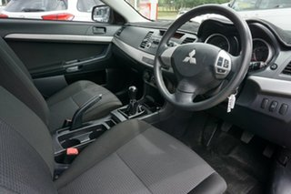 2009 Mitsubishi Lancer CJ MY09 ES Black 5 Speed Manual Sedan