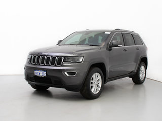 2017 Jeep Grand Cherokee WK MY18 Laredo (4x2) Grey 8 Speed Automatic Wagon.