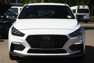2020 Hyundai i30 PD.V4 MY21 N Line Polar White 6 Speed Manual Hatchback