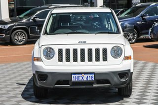 2013 Jeep Patriot MK MY2013 Sport CVT Auto Stick 4x2 White 6 Speed Constant Variable Wagon