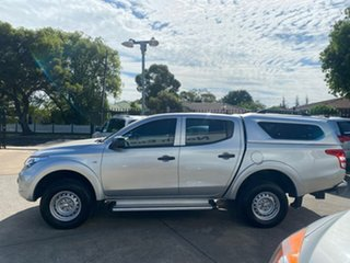 2016 Mitsubishi Triton MQ MY16 GLX Double Cab 4x2 Silver 5 Speed Sports Automatic Utility