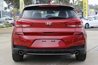 2020 Hyundai i30 PD.V4 MY21 N Line Fiery Red 7 Speed Auto Dual Clutch Hatchback