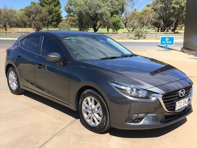 Used Mazda 3 BN5478 Maxx SKYACTIV-Drive Berri, 2016 Mazda 3 BN5478 Maxx SKYACTIV-Drive Machine Grey 6 Speed Sports Automatic Hatchback