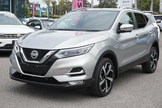 2018 Nissan Qashqai J11 Series 2 Ti X-tronic Silver 1 Speed Constant Variable Wagon