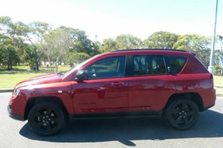 2014 Jeep Compass MK MY14 Blackhawk CVT Auto Stick Red 6 Speed Constant Variable Wagon