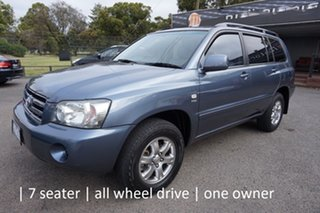 2007 Toyota Kluger MCU28R MY06 CV AWD Glacier Blue 5 Speed Automatic Wagon.