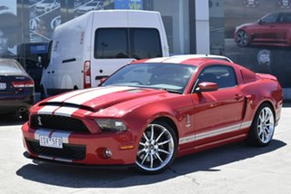 2009 Ford Mustang Red/Black.