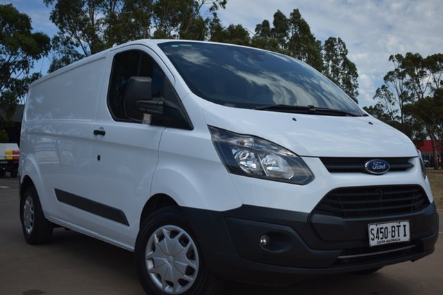 Used Ford Transit Custom VN 290S Low Roof SWB St Marys, 2017 Ford Transit Custom VN 290S Low Roof SWB White 6 Speed Automatic Van