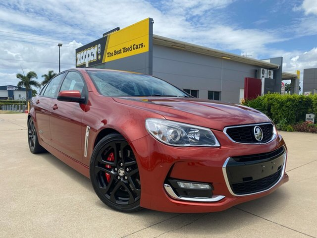 Used Holden Commodore VF II MY16 SS Townsville, 2016 Holden Commodore VF II MY16 SS Red 6 Speed Manual Sedan