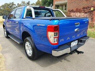 2017 Ford Ranger PX MkII XLT Hi-Rider Blue Sports Automatic Utility